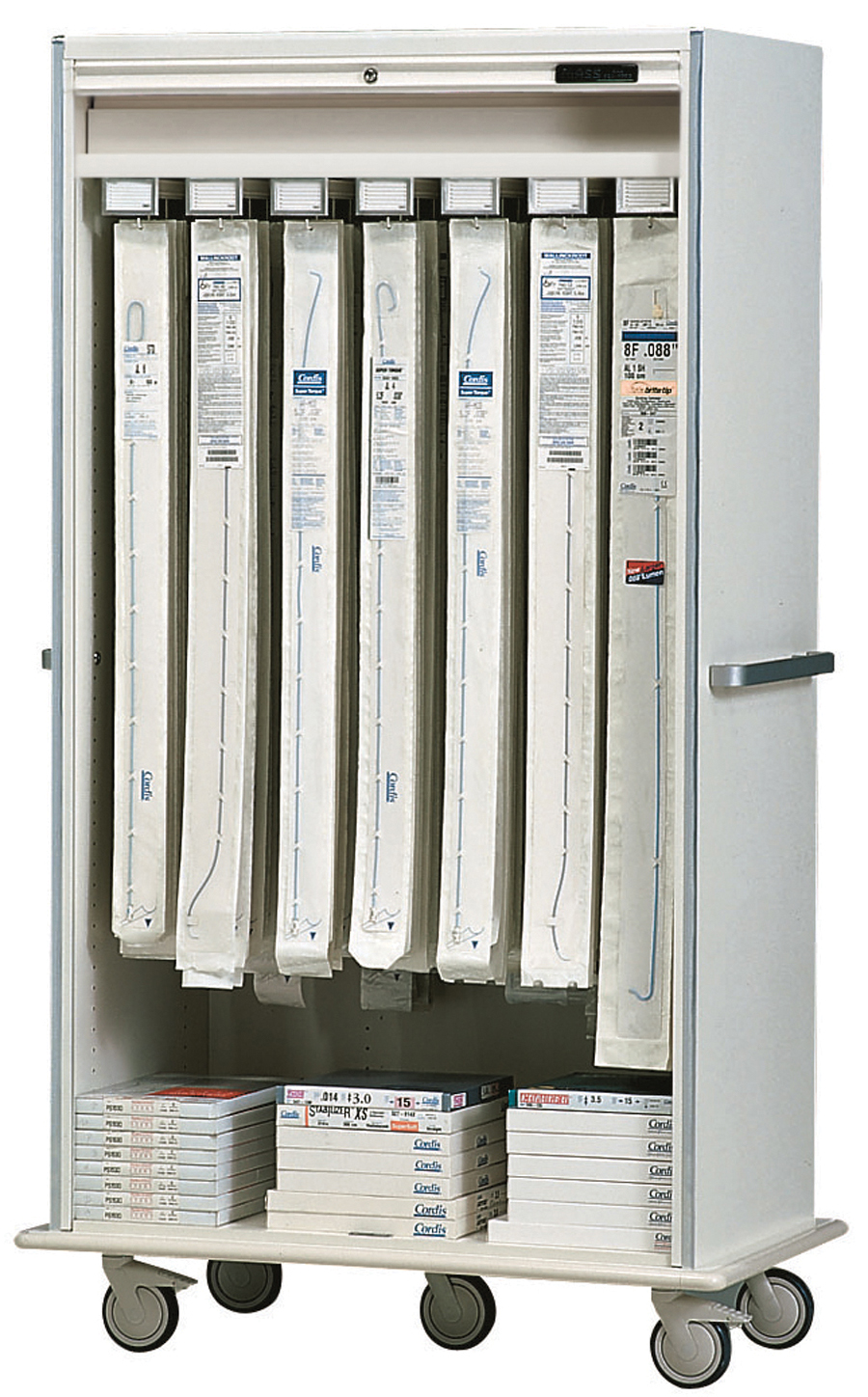 Catheter Cart M3101 16 Lc Storage Systems Unlimited